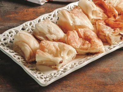Priprema tradicijskog kolača Podravska mazanica