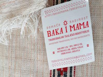 Baka i mama – tradicionalno tkalačko rukotvorje
