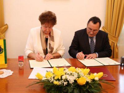 Svečano potpisivanje Sporazuma o suradnji između grada Nagybajoma i Općine Virje