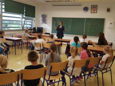 U Osnovnoj školi Legrad održana pričaonica za djecu