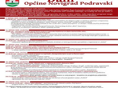 Program Dana Općine Novigrad Podravski 2020.