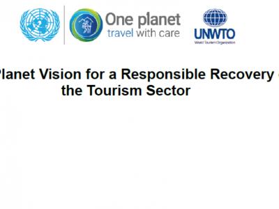 One Planet vizija za odgovorni oporavak turističkog sektora
