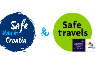Nacionalna oznaka sigurnosti – Safe stay in Croatia